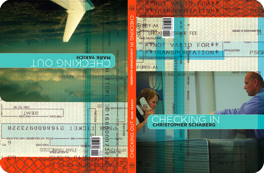 Checking In Checking Out was written by Christopher Schaberg and Mark Yakich.